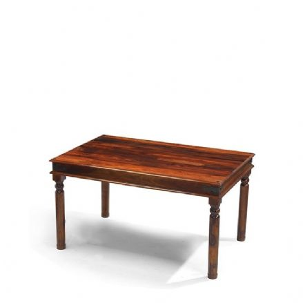 Jali Sheesham Wood Thacket Dining Table 160cm